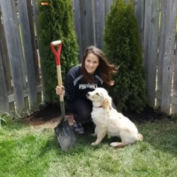 Catherine Carlini Employee Of Warrior Landscaping