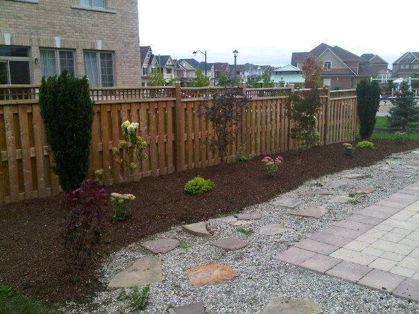 One Of The Gardens We've Designed and Built