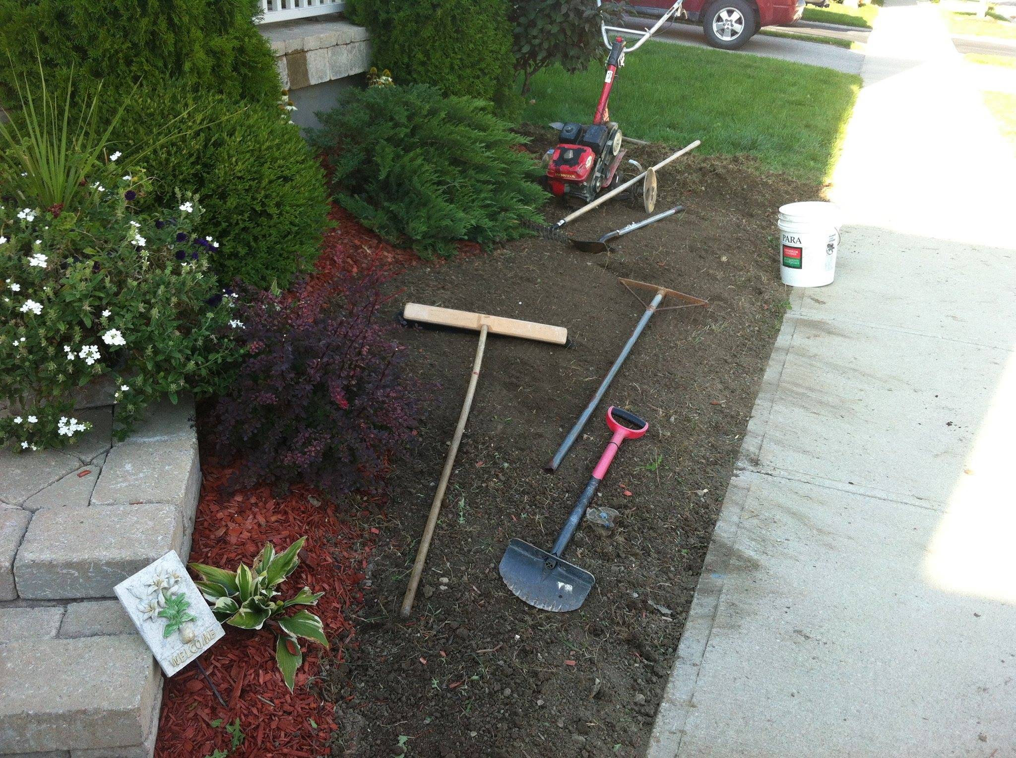 Getting A Garden Ready