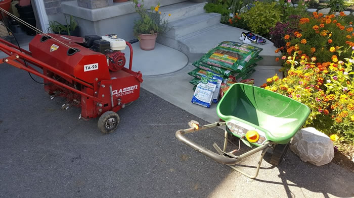 Lawn Feeding and Lawn Fertilizing In Grand Valley Ontario