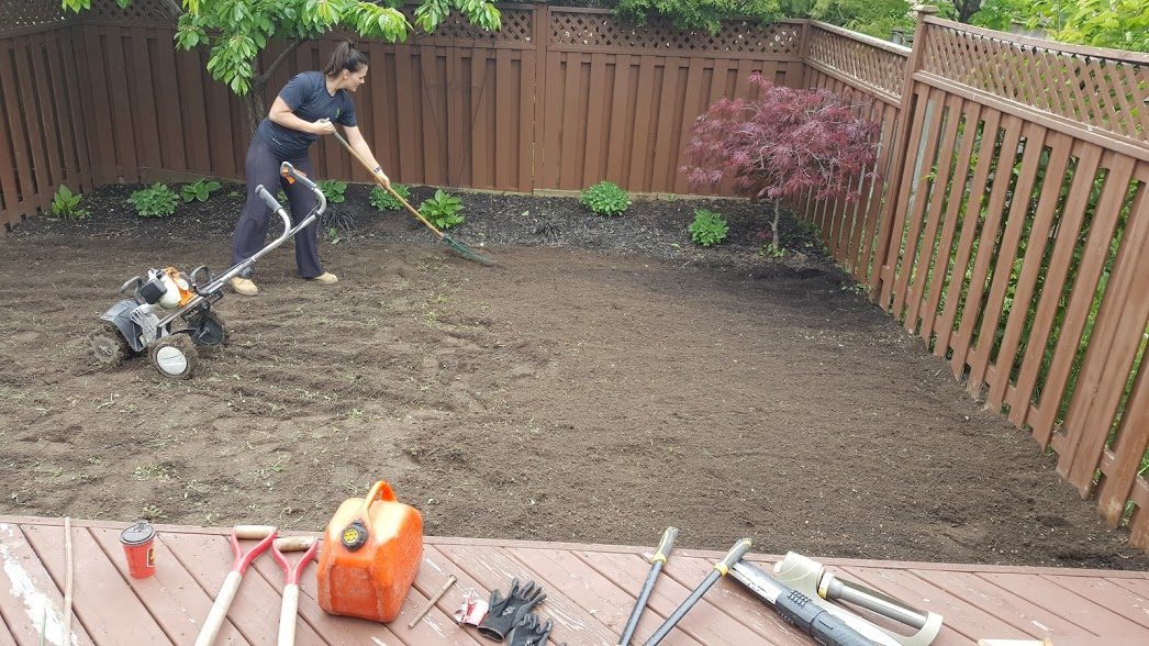 Prepping New Lawn Area For Sod