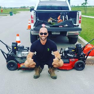 Tim Oliver Owner Of Warrior Landscaping